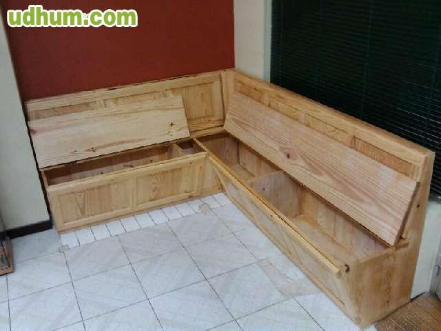 Banco arcon de madera for Banco arcon madera