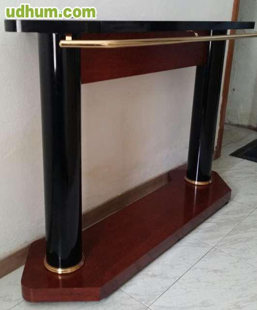 Mueble bar barra for Bar movil de madera