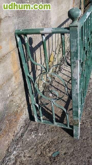 Barandilla hierro galvanizado for Casetas de hierro galvanizado