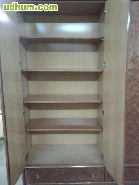 Magnifico armario ropero de 4 puertas - Armario ropero 4 puertas ...