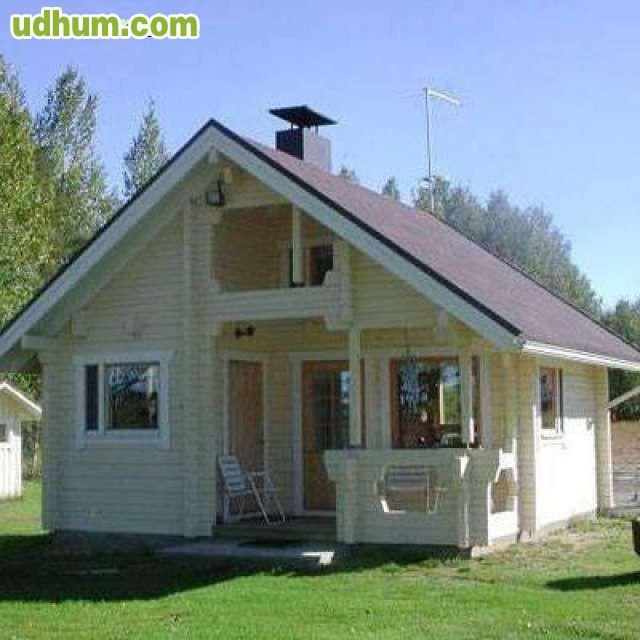 Casa de 38 m2 de madera 1 for Casas prefabricadas ocasion
