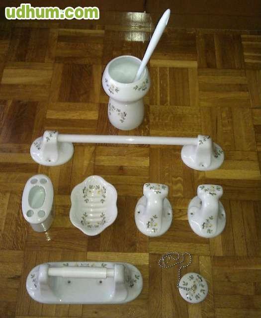 Accesorios para ba o de porcelana for Accesorios bano porcelana