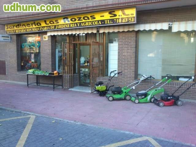 Reparacion maquinaria jardin for Jardineria las rozas
