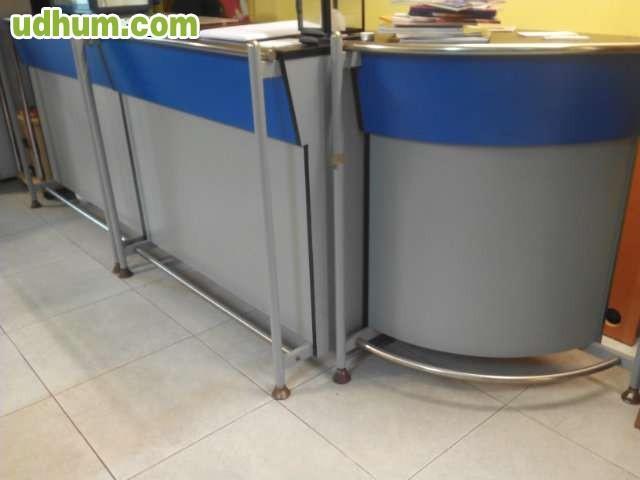 Vendo mostrador oficina for Vendo caseta metalica