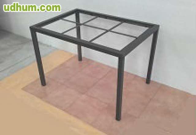 Mesa de forja comedor de fabrica - Fabrica de mesas de comedor ...