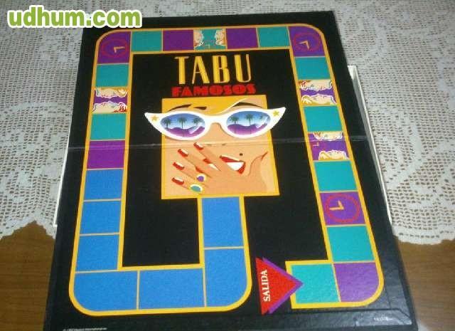 Juego de mesa tabu famosos for Juego de mesa tabu precio