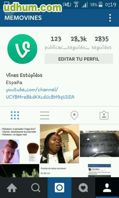 vendo cuenta de instagram 28 2k
