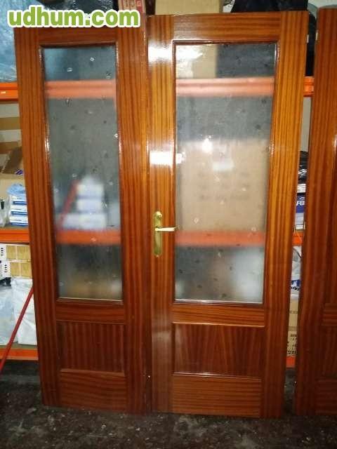Puertas madera para piso o casa for Puertas para pisos