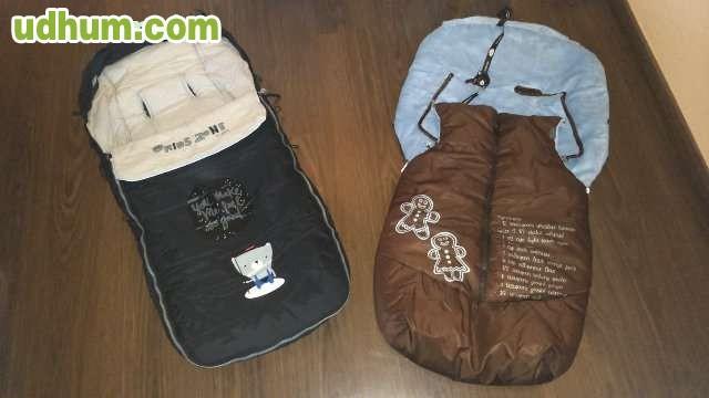 Sacos de invierno para sillas de paseo for Saco invierno maclaren