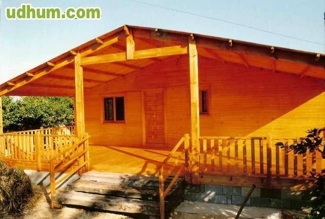 Casas de madera maciza econ micas 5x6 - Casas de madera economicas espana ...