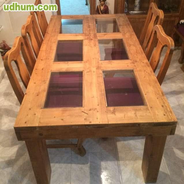 Oferta comedor muebles mejicanos for Oferta comedor completo