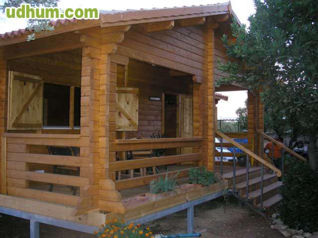 Casa prefabricada de madera 4 - Casa de madera prefabricada ...