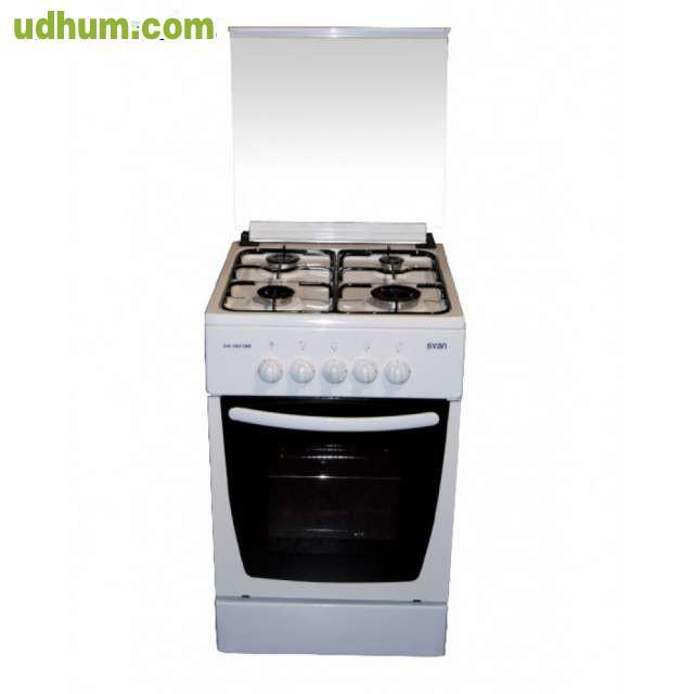 Cocina 4 fuegos con horno gas for Cocinas de gas butano con horno