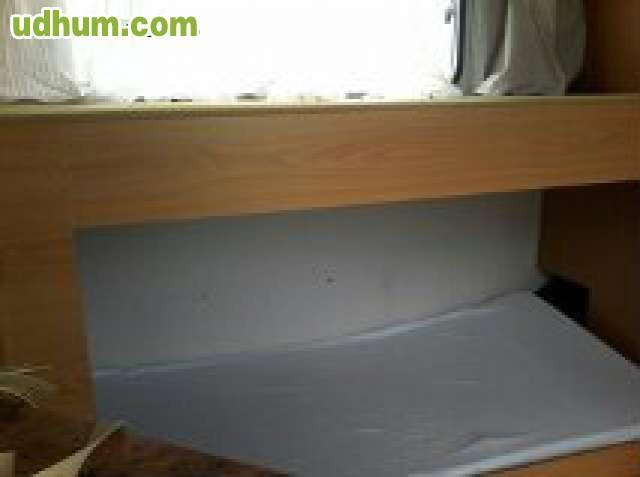 Baño Quimico Pequeno: , litera, baño con W C quimico Cocina pequeño salón