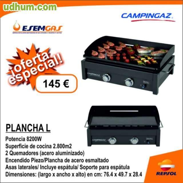 Plancha a gas butano for Plancha de gas butano