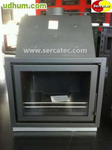 Chimenea calefactora radiadores 34 kw - Estufa de lena para radiadores ...