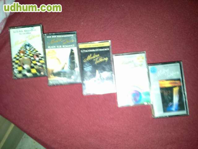 Vendo casettes modern talking coleccion for Vendo caseta metalica
