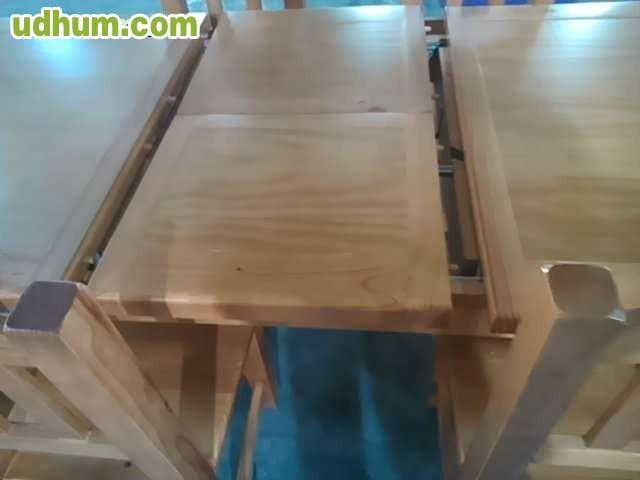 Oferta de mesas y sillas rusticas for Ofertas de mesas y sillas