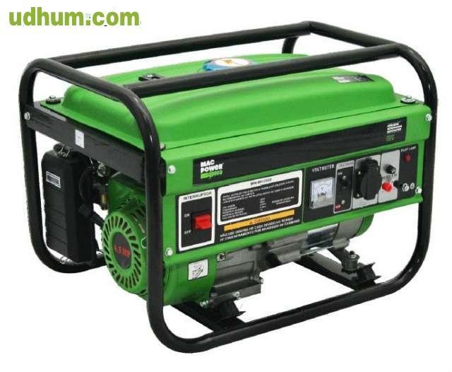 Vendo generador gasolina 2200w mac power - Generador de gasolina ...