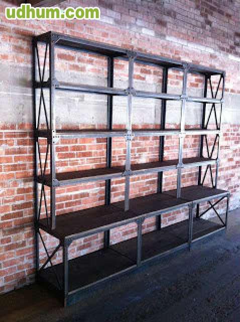 Mobiliario comercial vintage industrial - Mobiliario vintage industrial ...