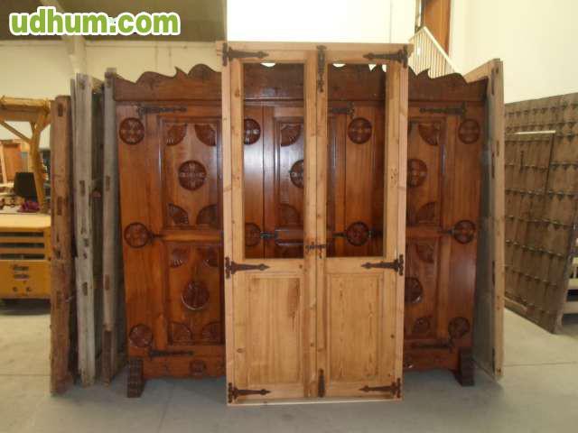 Venta de puertas antiguas restauracion for Restauracion de puertas antiguas