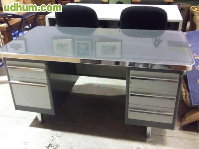 Mesa met lica de oficina for Caseta metalica carrefour