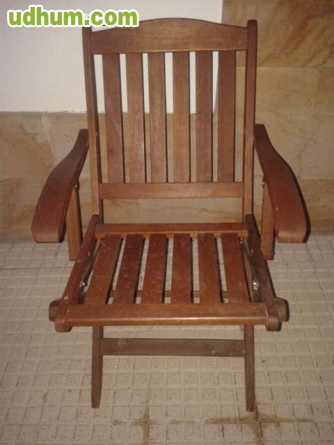 Vendo 2 sillas de madera for Vendo caseta madera jardin