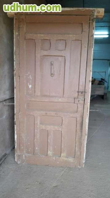 puerta entrada madera antigua ocasion