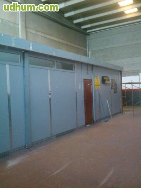 Instalacion Baño Minusvalidos:Se alquila nave industrial, instalación eléctrica, Ignifugada con