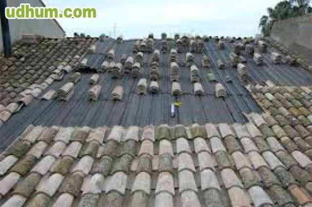 arreglamos todo tipos de tejados goteras
