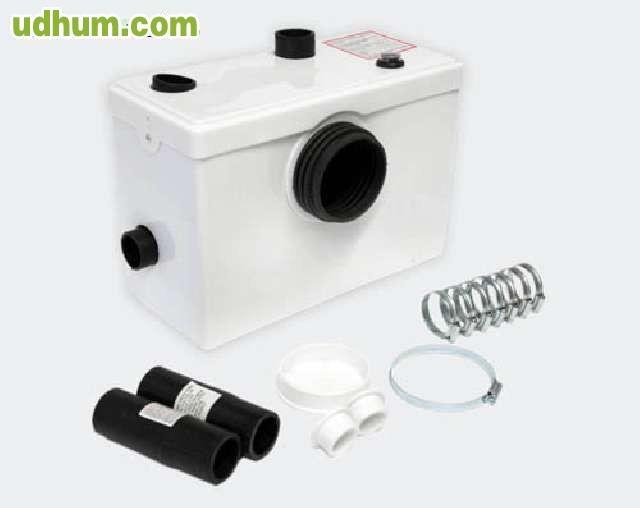 Bomba trituradora wc 600w 220v 3 for Bomba trituradora inodoro precio