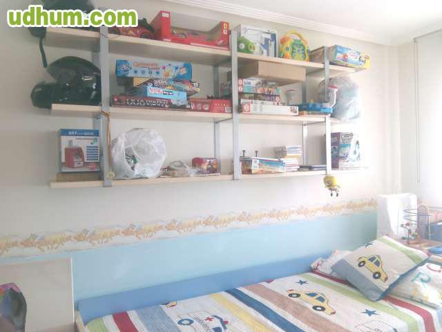 Habitaci n infantil juvenil 5 for Habitacion infantil juvenil