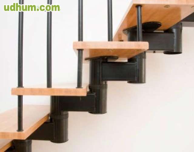Escalera tramos rectos en forma de u for Escaleras 2 tramos