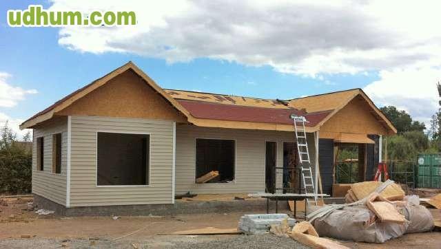 Casa de madera caba as carpinter a - Carpinteria casas ...