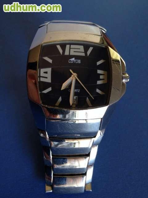 628ec16068a3 Reloj de pulsera de acero LOTUS CODE de hombre