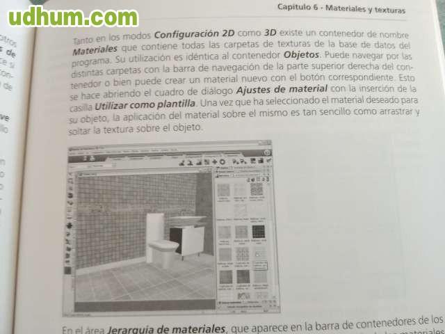 Libro software dise o interiores 3d 7 0 for Software diseno interiores