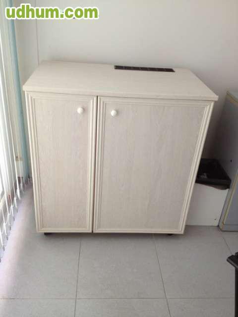 Mueble minibar con ruedas nevera - Mueble para nevera ...