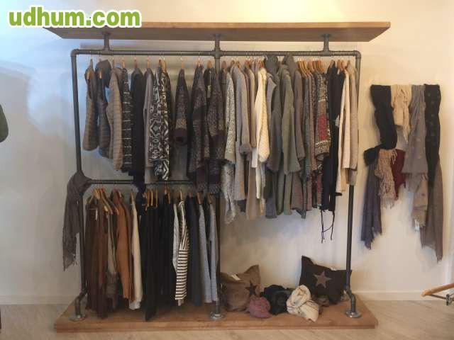 Burro ropa perchero con tubo hierro - Burros para ropa ...