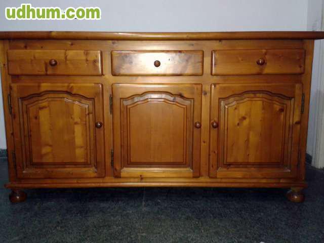 Muebles de comedor de madera de pino - Muebles en madera de pino ...