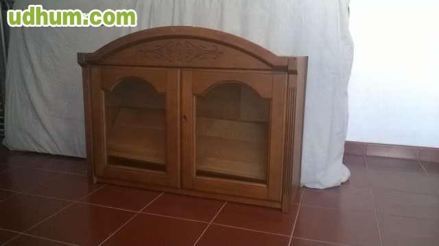 Muebles salon completo madera provenzal for Muebles salon completo