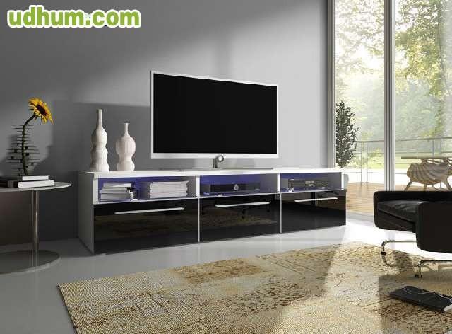 Mueble de tv moderno for Mueble minimalista
