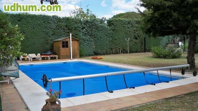 Enrollador cobertor lona toldo cubierta for Toldo piscina precio