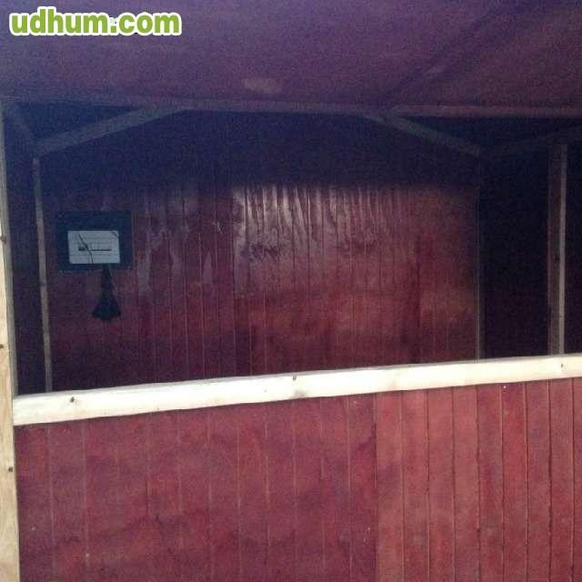 Chiringuito madera para feria y mercados for Kioscos bares de madera somos fabricantes