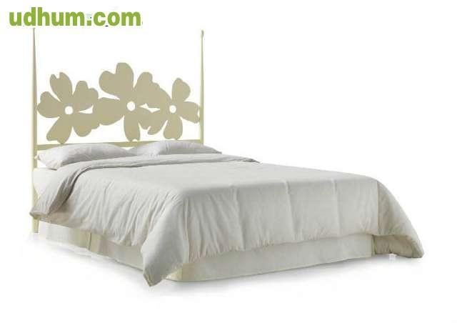 Cabezal cama forja blanco dise o laser - Cabezal forja blanco ...