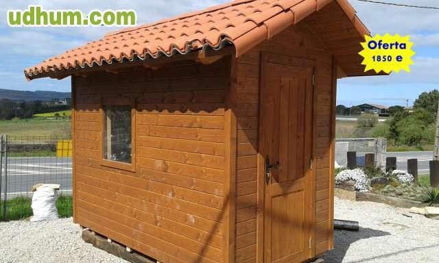 Casetas de madera para jardin a medida for Casetas para banos