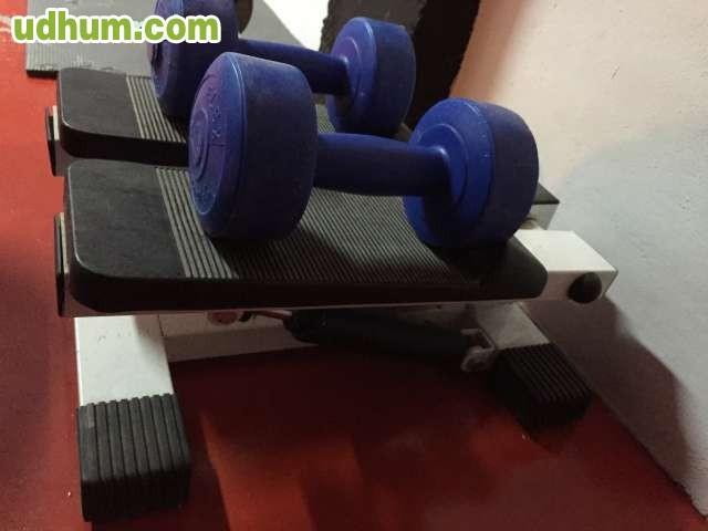 Step 2 pesas de 2 kg - Maquina step decathlon ...