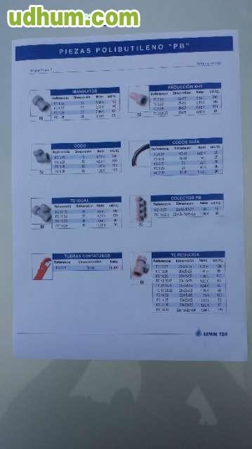 Accesorios y tuberias de polibutileno - Tuberias de polibutileno ...