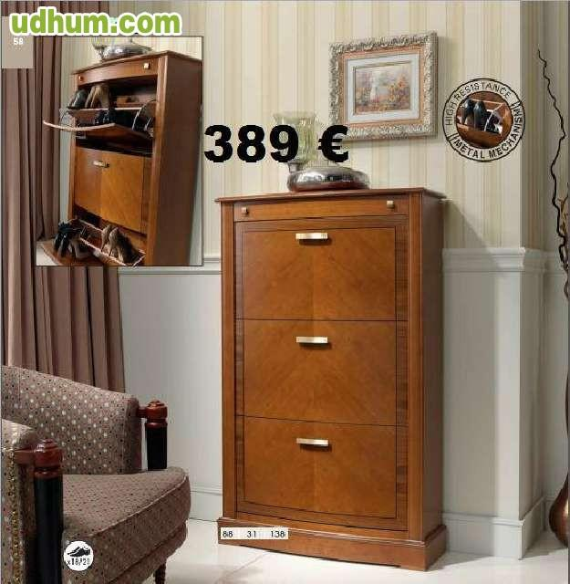 Zapateros de madera baratos for Zapateros madera baratos
