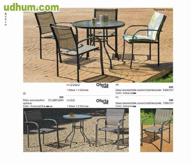 Sillas y mesas de jardin baratas for Mesas de jardin de madera baratas