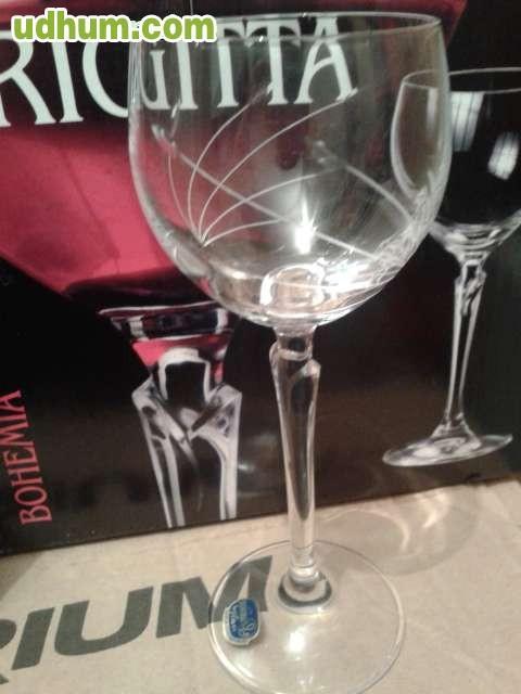 Cristaleria bohemia brigitta 48 piezas - Cristalerias de bohemia ...